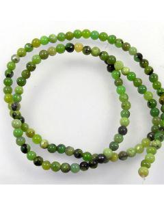 Chrysoprase 4mm Round Beads