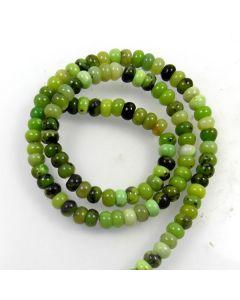 Chrysoprase 4x6mm Rondelle Beads
