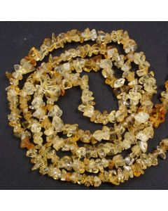 Citrine 5x8mm Chip Beads