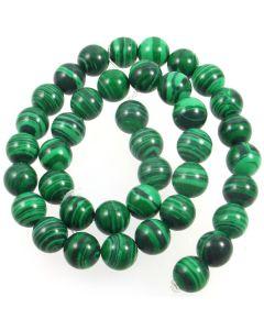 Malachite (Imitation) 10mm Round Beads