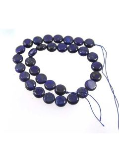 Lapis Lazuli 12mm Coin Beads