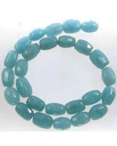 Blue Sponge Quartz (dyed) 10x14mm cut Nugget Beads