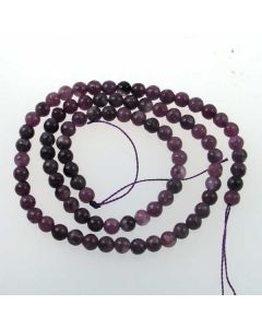 Plum Jade 4mm Beads