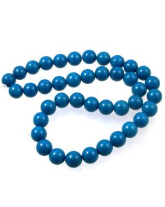 Mashan Jade (White) 10mm Round Beads