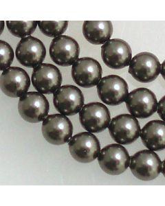 Swarovski® Crystal Pearls 6mm Dark Grey - Pack of Ten