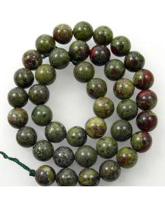 Dragon Vein Jasper 10mm Round Beads