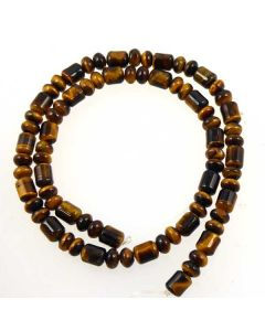 tigereye drum and rond beads