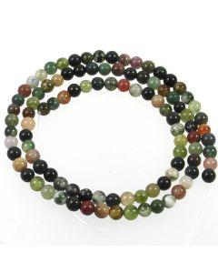 Fancy Jasper 4mm Round Beads