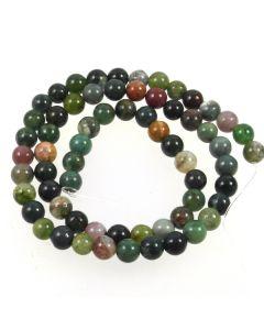 Fancy Jasper 6mm Round Beads