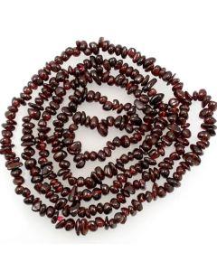 Garnet 4x6mm Chip Beads
