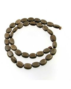 Natural Graywood 8x10.5mm approx Oval Beads