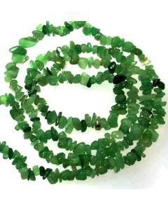 Green Aventurine 5x8mm Chip Beads