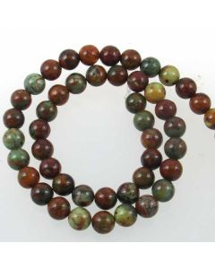 African Common Opal 8mm Round Beads