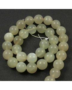 Moonstone 12mm Round Beads