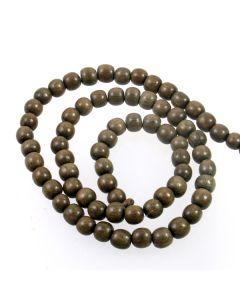 Natural Graywood 5-6mm Beads