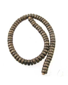 Natural Graywood 5x12mm (approx) Pokalet Beads