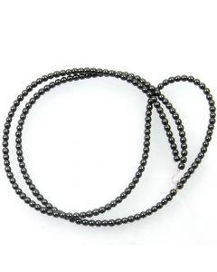 Hematite 2mm Round Beads