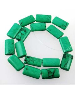 Hubei Province Turquoise Pillow Beads