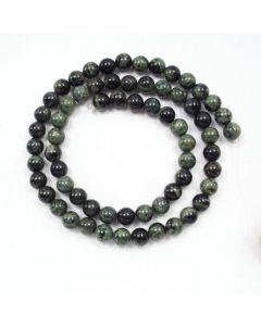 Kambaba Jasper 6.5mm Round Beads