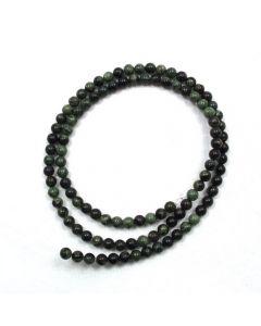 Kambaba Jasper 4-4.5mm Round Beads