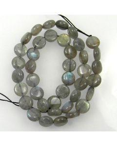 Labradorite Coin Beads