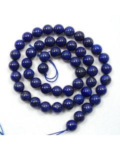 Lapis Lazuli 7.5-8.5mm Round Beads