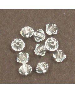 Swarovski® 4mm Light Azore Bicone Xilion Cut Beads (Pack of 10)