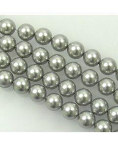 Swarovski® Crystal Pearls 8mm Light Grey - Pack of Ten