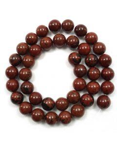 Mahogany Obsidian 10.5mm Round Beads