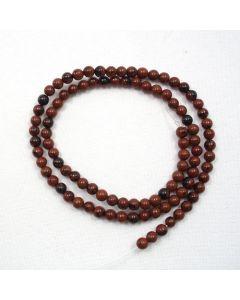 Mahogany Obsidian 4.5mm (approx) Round Beads