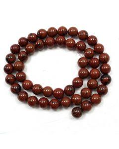 Mahogany Obsidian 8-8.5mm Round Beads