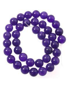 Malay Jade (Dyed Amethyst Quartzite) 10mm Round beads