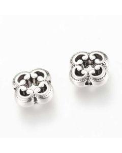 Tibetan 10x10x4mm Bead