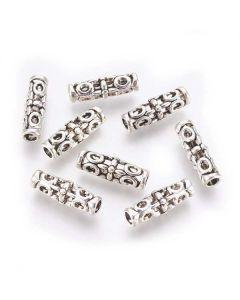 Tibetan 18x7mm Bead (Pack 10)