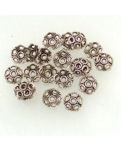 Tibetan Silver Bead Caps