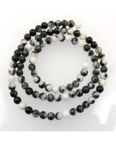 Mexican Jasper 4mm round beads