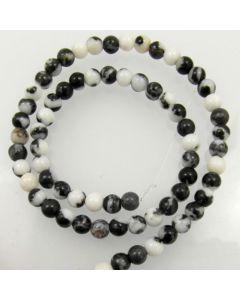 Mexican Jasper 6mm Round Beads