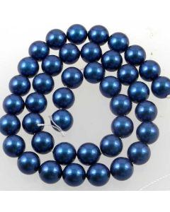 Shell Pearl Prussian Blue 10mm