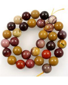 Mookaite 12.5mm Round Beads