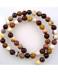 Mookaite 8-8.5mm Round Beads