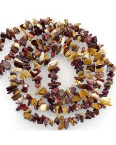 Mookaite 5x8mm Chip Beads