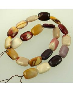 Mookaite 13x18mm Rectangle Beads