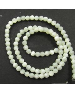 Mother of Pearl 4mm Round Beads