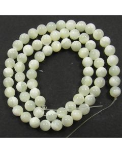 Mother of Pearl 6mm Round Beads
