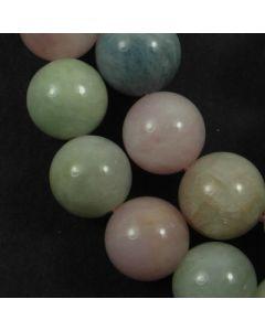 Beryl (multi stone) 10mm Round Beads 2