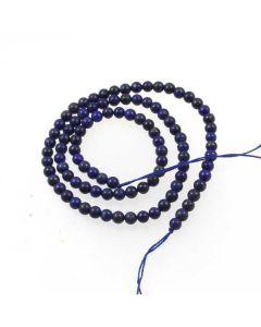 Lapis Lazuli Natural 4mm Round Beads