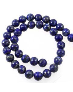 Lapis Lazuli Natural 10mm Round Beads