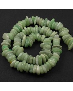 Jade 8x10mm (approx) Irregular Slice Beads