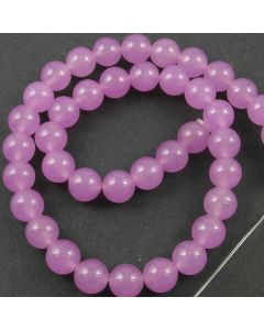 Malay Jade (Dyed Orchid Quartzite) 10mm Round Beads