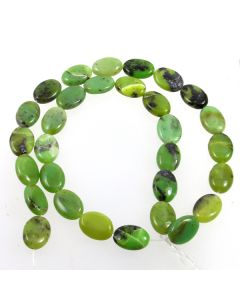 Chrysoprase 10x14mm Oval Beads